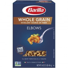 BARILLA ELBOWS WHOLE GRAIN 16oz
