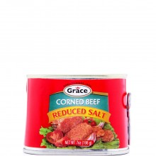 GRACE CORNED BEEF L/SALT 7oz