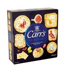 CARRS SELECTION BISCUITS 500g