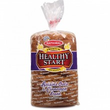 NATIONAL BREAD HS RAISIN OATS CINN 20oz
