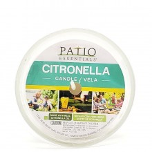 PATIO ESSENTIALS CITRON CANDLE CUP 1ct