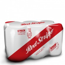 RED STRIPE CAN 6x330ml