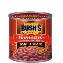 BUSHS BAKED BEANS H/STYLE 454g
