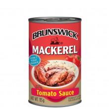 BRUNSWICK MACKEREL TOMATO 155g