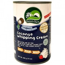 NATURES CHARM COCONUT WHIP CREAM 400g