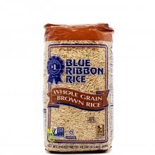 BLUE RIBBON RICE BROWN WHOLE GRAIN 2lb