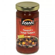ASIAN GOURMET SAUCE SWEET & SOUR 7oz