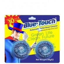 BLUE TOUCH TOILET BOWL CLN 2x50g