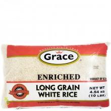 GRACE RICE LONG GRAIN WHT 4.54kg