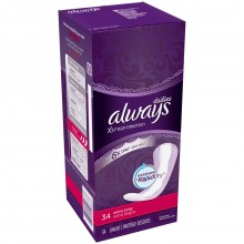 ALWAYS DAILY LINERS EXTRA LONG 34s