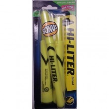 AVERY YELLOW HI-LIGHTER 2pk