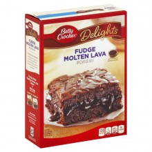 BETTY CRKR BROWNIE FUDGE MOLT LAVA 541g