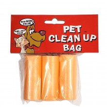 BOW-WOW VALUE PET CLEAN UP BAGS 3pk