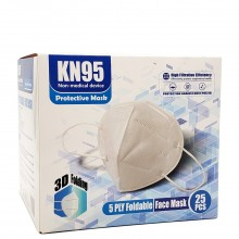KN95 PROTECTIVE MASKS 25pc