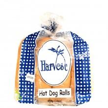 HARVEST ROLLS HOT DOG 8ct 16oz