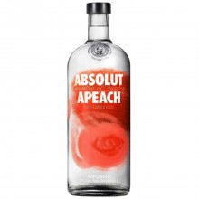 ABSOLUT VODKA PEACH 1L