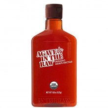 AGAVE IN THE RAW SYRUP 18.5oz