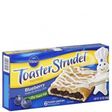 PILLSBURY TOAST STRUDEL BLUEBERRY 331g