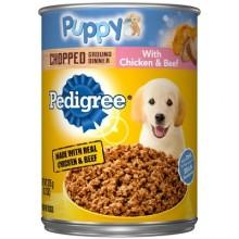 PEDIGREE PUPPY CHICKEN & BEEF 375g