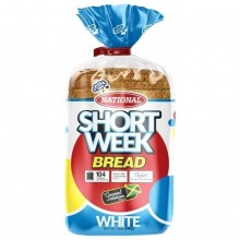 NATIONAL BREAD SHORT WEEK WHITE 18oz