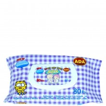 ADA BABY WIPES UNSCENTED 80s