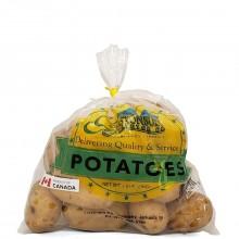 GLASTONBURY POTATOES IRISH 1kg