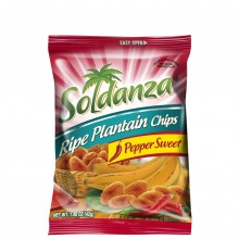 SOLDANZA PLANTAIN CHIPS PEPPER SWT 42g