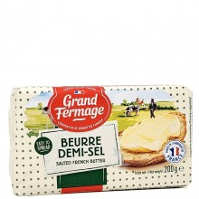 GRAND FERMAGE BUTTER SALTED 200g