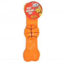BOW WOW VALUE DOG TOY SPORTS BONE 8in