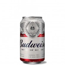 BUDWEISER CAN 355ml