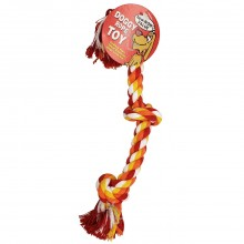 BOW-WOW VALUE DOG ROPE CHEW SUN CLR 1ct