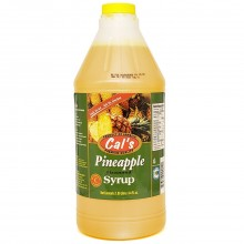 CALS SYRUP PINEAPPLE 1.89L