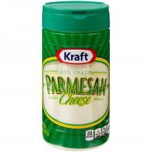 KRAFT PARMESAN GRATED 8oz