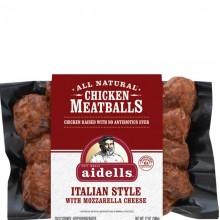 AIDELLS CHIC MEATBALLS ITAL W/MOZZ 12oz