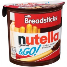 NUTELLA W/BREADSTICKS 52g