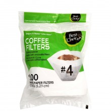 BEST CHOICE COFFEE FILTERS #4 100s