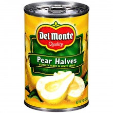 DEL MONTE PEAR HALVES 15.25oz
