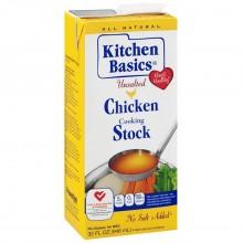 KITCHEN BASIC CHICKEN STOCK UNSALT 32oz
