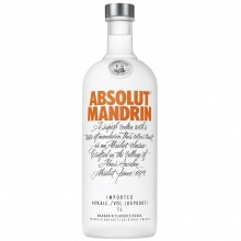 ABSOLUT VODKA MANDRIN 1L
