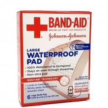 BAND-AID WATERPROOF PAD 6pc