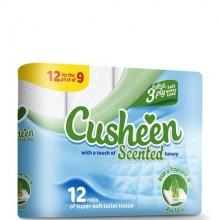 CUSHEEN TOILET TISSUE ALOE 12pk