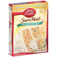 BETTY CRKR CAKE RAINBOW CHIP 432g