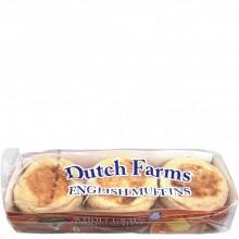 DUTCH FARMS ENGLISH MUFFIN W/WHEAT 12oz