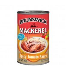 BRUNSWICK MACKEREL SPICY TOMATO 155g