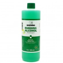 BENJAMINS RUBBING ALCOHOL WG 500ml