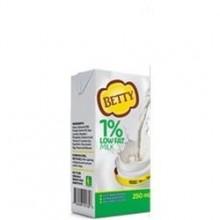 BETTY MILK LOW FAT 1% 250ml