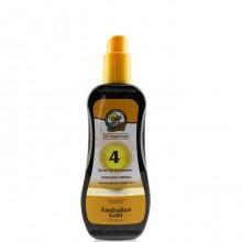 AUSTRALIAN GOLD SPF4 CARROT OIL SPRAY 8o