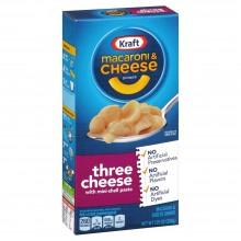 KRAFT MAC&CHEESE 3 CHEESE 7.25oz