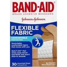 BAND-AID FLEX ASSORTED 30s