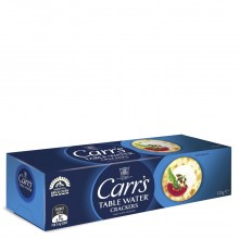 CARRS TBL WATER CRACKERS 125g